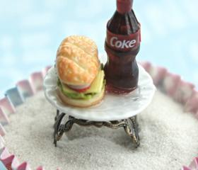 coke and sandwich ring